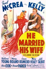 He Married His Wife 1940 DVD - Joel McCrea / Nancy Kelly